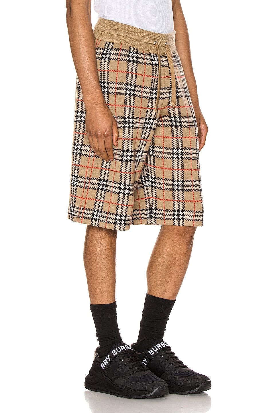 Image 2 of Burberry Casual Shorts in Archive Beige