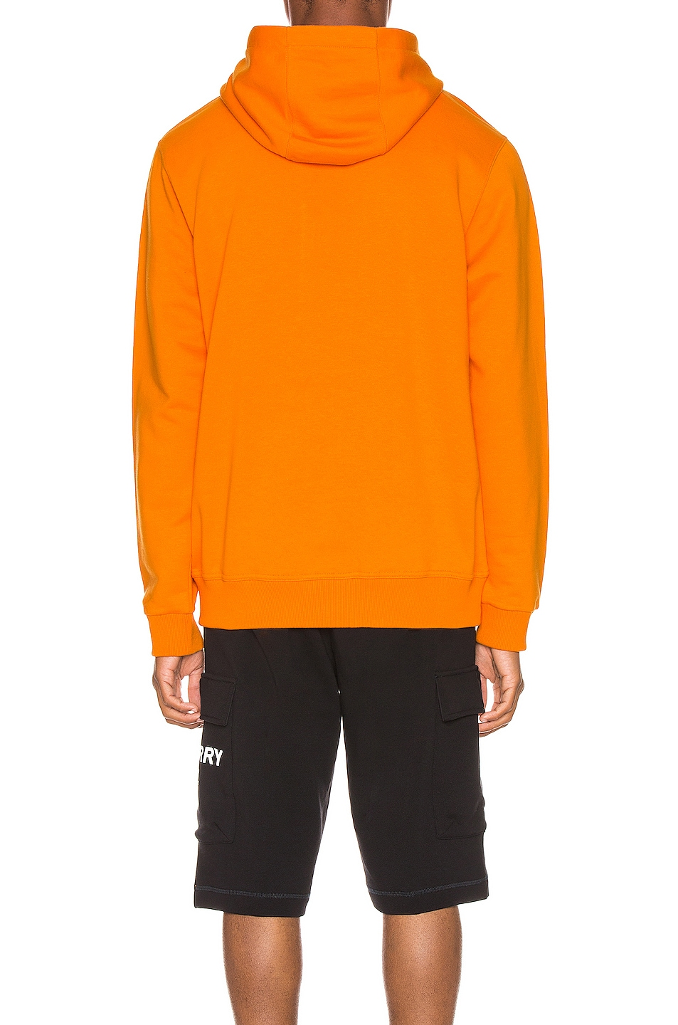 Image 4 of Burberry Farrows Hoodie in Bright Orange