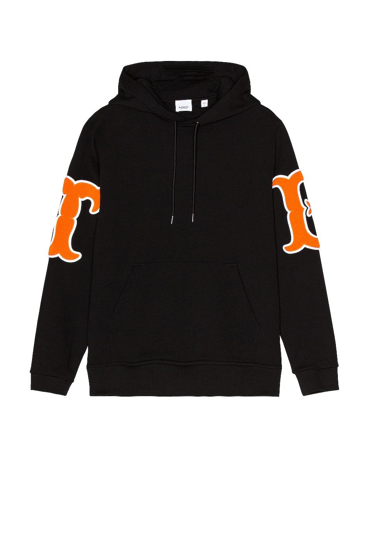 Image 1 of Burberry Cash Hoodie in Black