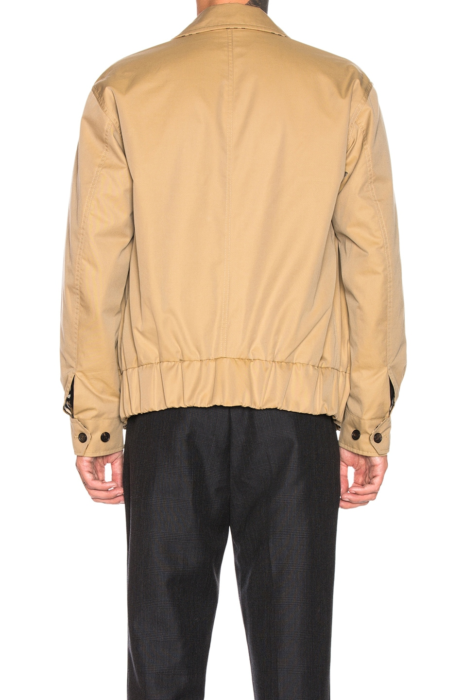 Image 4 of Burberry Stratford Reversible Jacket in Honey