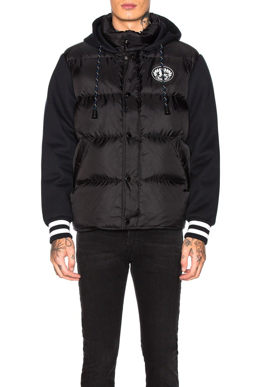 Image 2 of Burberry Turner Nylon Hoodie in Black