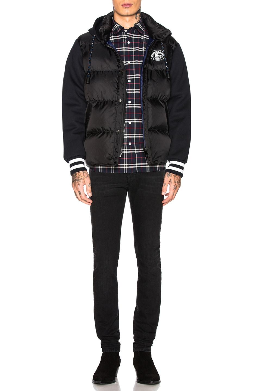 Image 5 of Burberry Turner Nylon Hoodie in Black