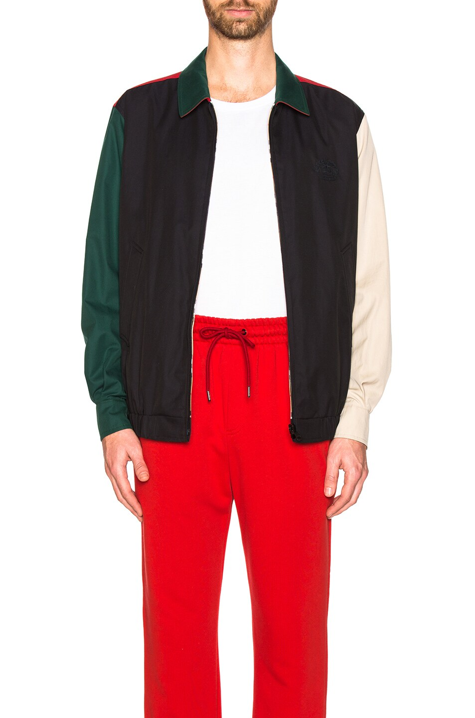 Image 1 of Burberry Cadshaw Reversible Jacket in Midnight