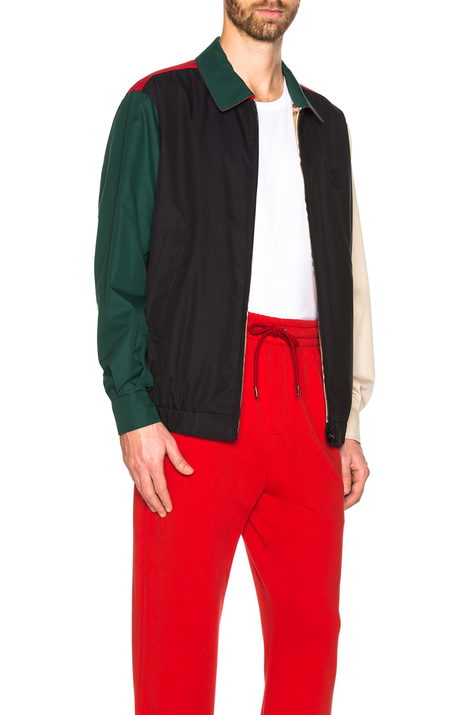 Image 3 of Burberry Cadshaw Reversible Jacket in Midnight