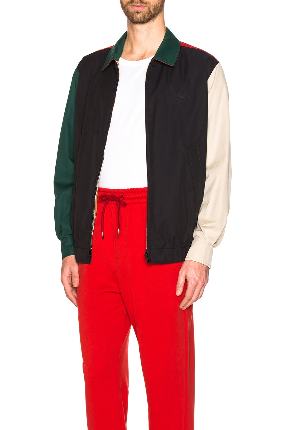 Image 4 of Burberry Cadshaw Reversible Jacket in Midnight