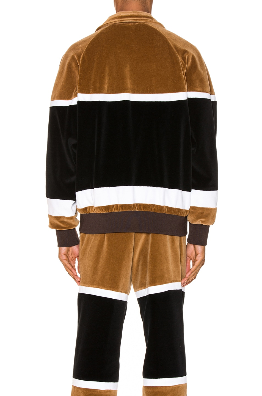 Image 4 of Burberry Track Jacket in Dark Walnut