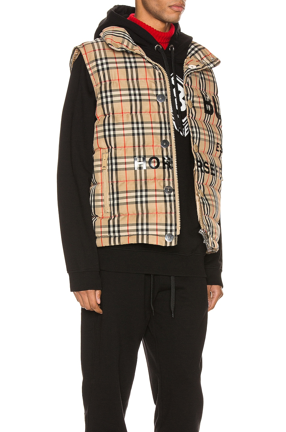 Image 3 of Burberry Midland Jacket in Archive Beige IP Check