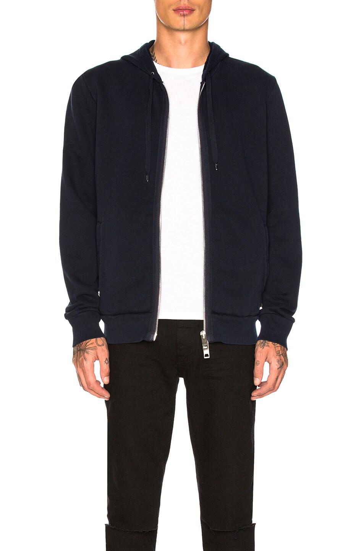 burberry hoodie blue