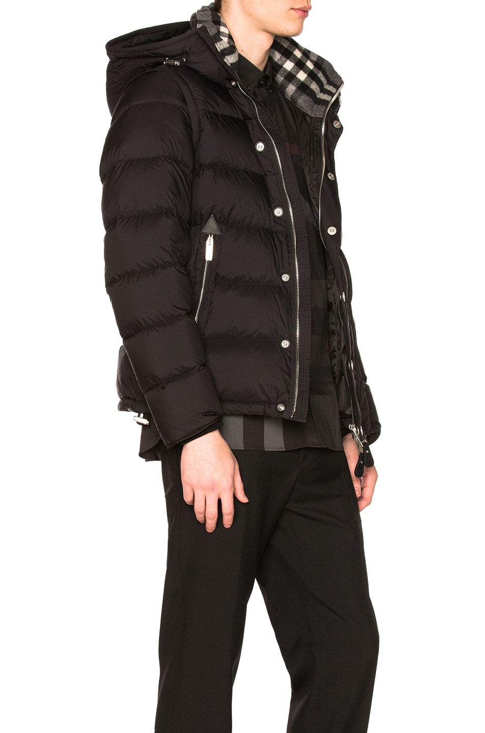 0c6fd607df3f Image 3 of Burberry Hartley Down Blouson in Black