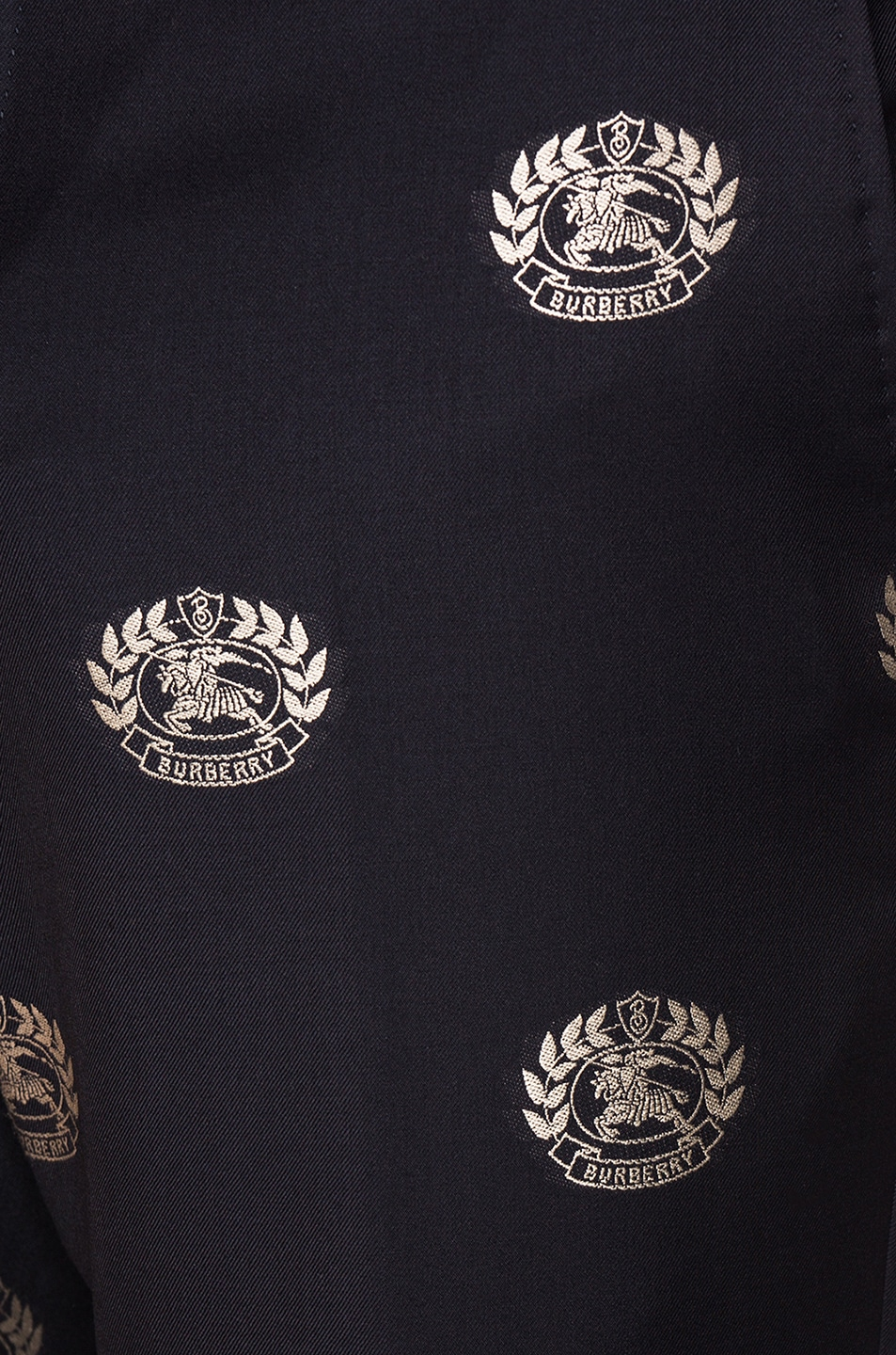 Image 5 of Burberry Crest Trousers in Midnight Blue