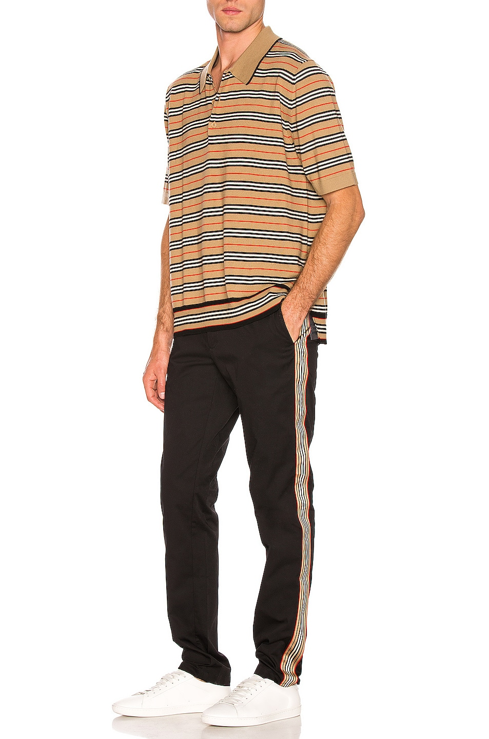 Image 5 of Burberry Vintage Stripe Chino in Black