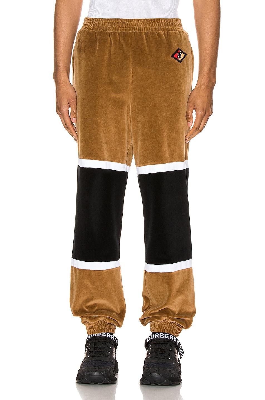 Image 1 of Burberry Sweatpants in Dark Walnut