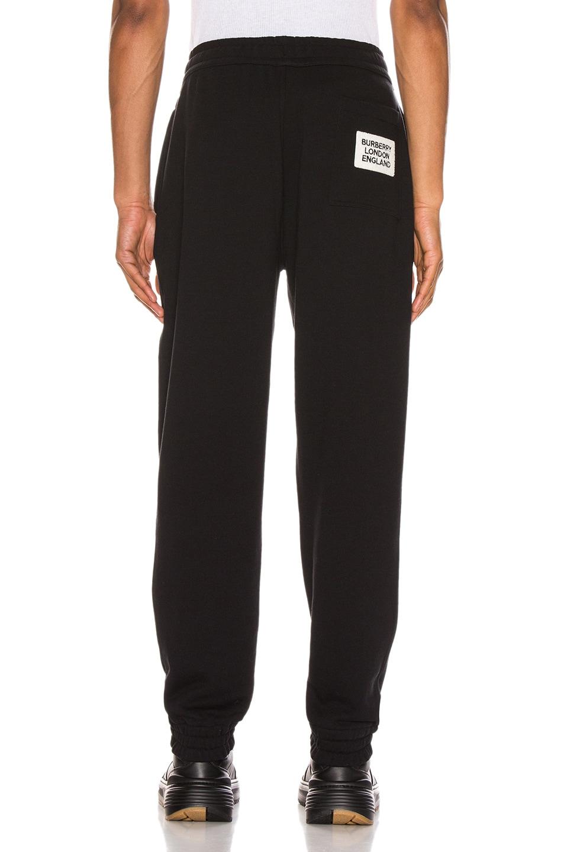 Image 3 of Burberry Sweatpants in Black