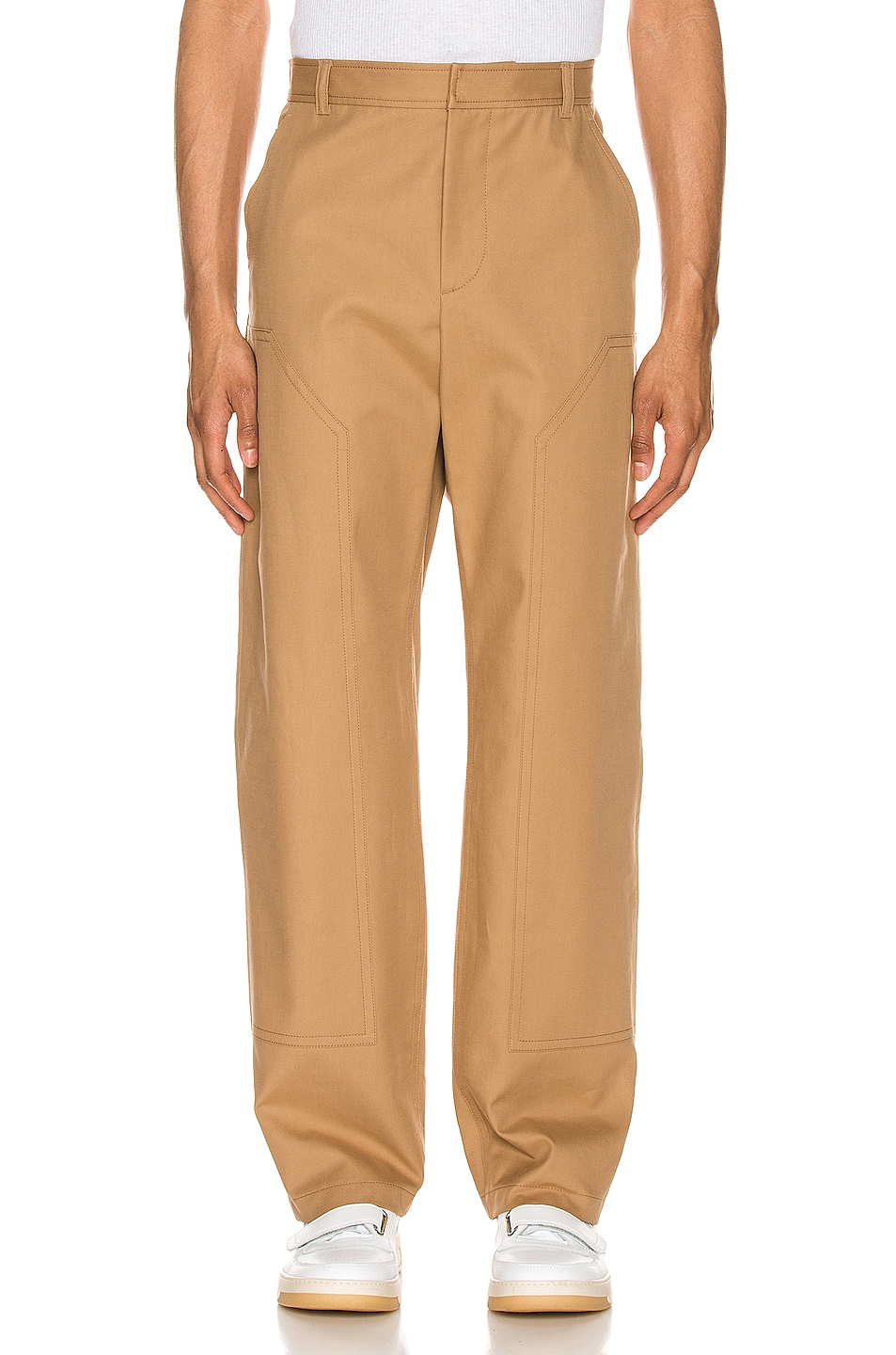 Image 1 of Burberry Trousers in Warm Walnut