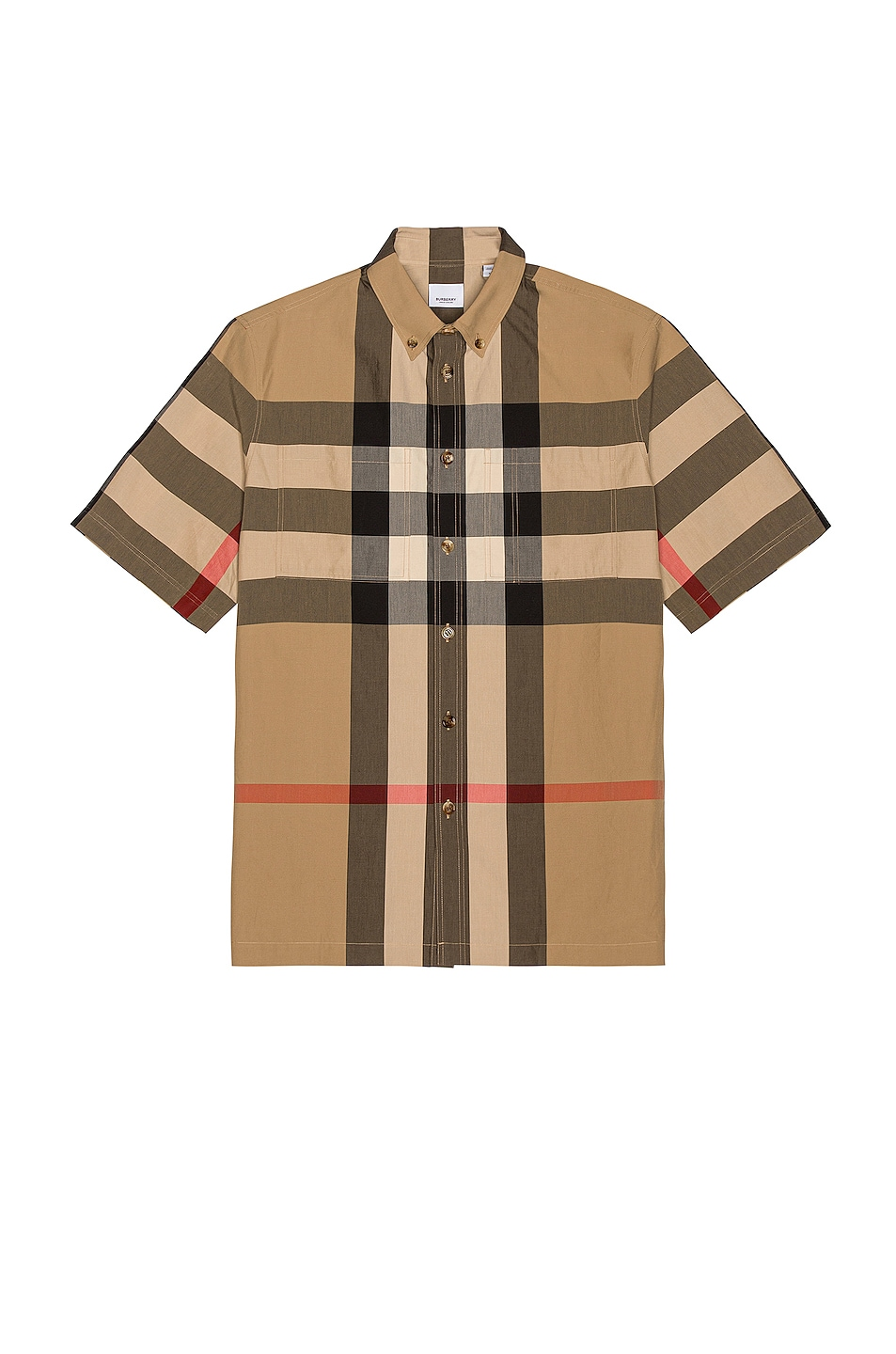 Image 1 of Burberry Thames Shirt in Archive Beige