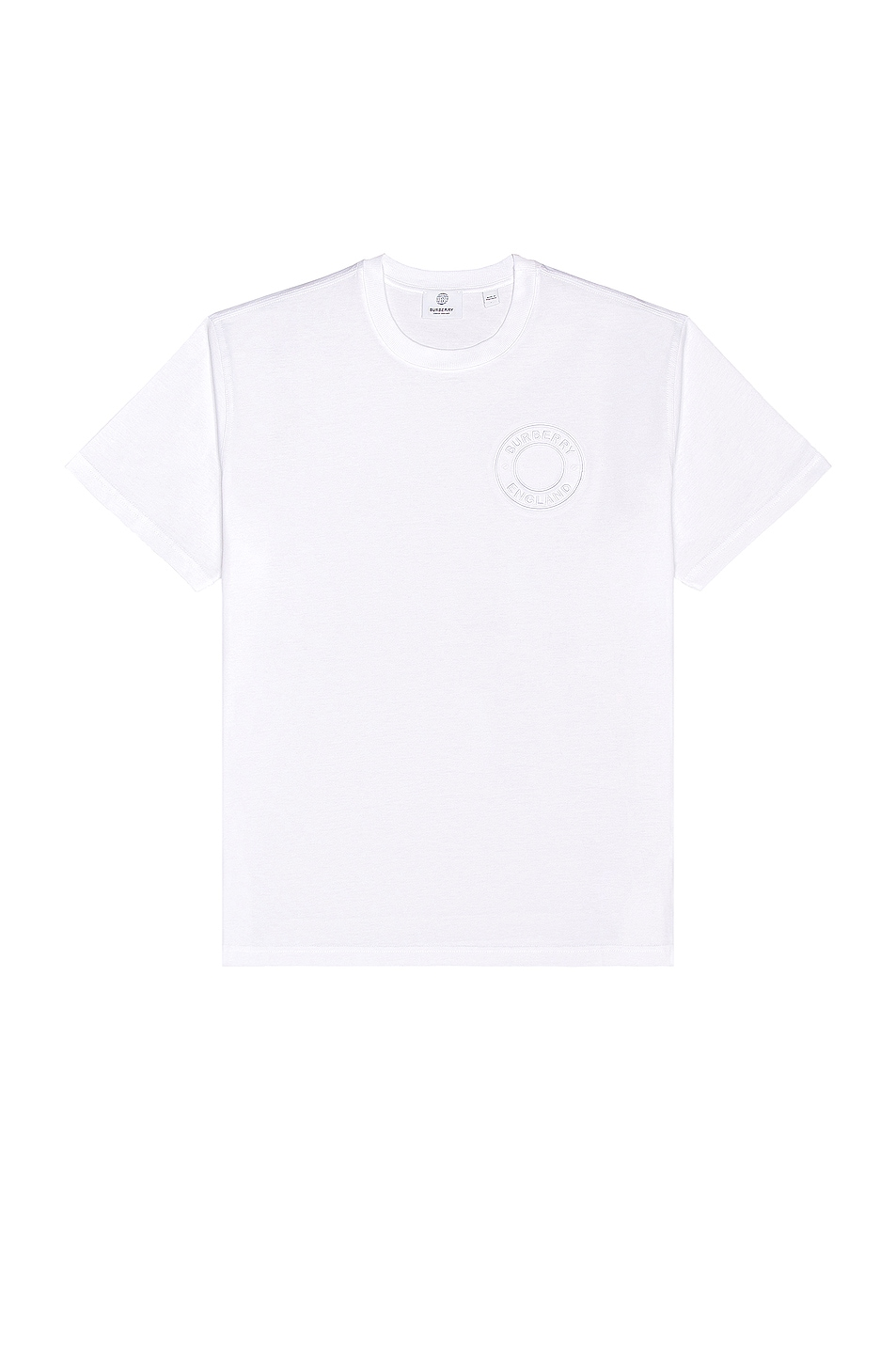 Image 1 of Burberry Ronin Tee in White