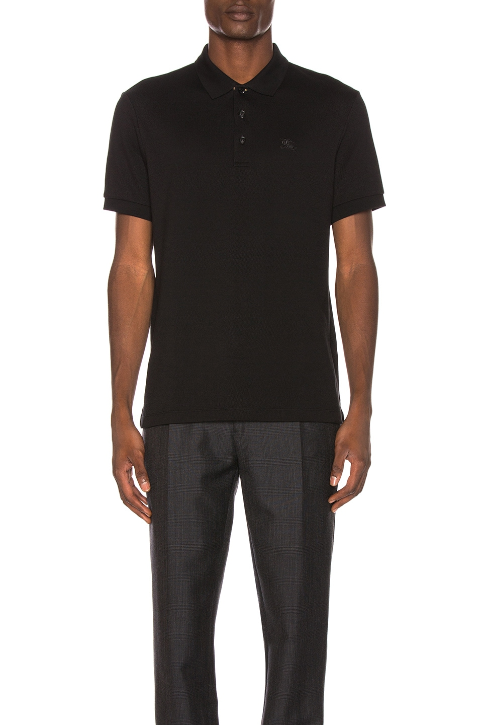 Image 2 of Burberry Hartford Polo in Black