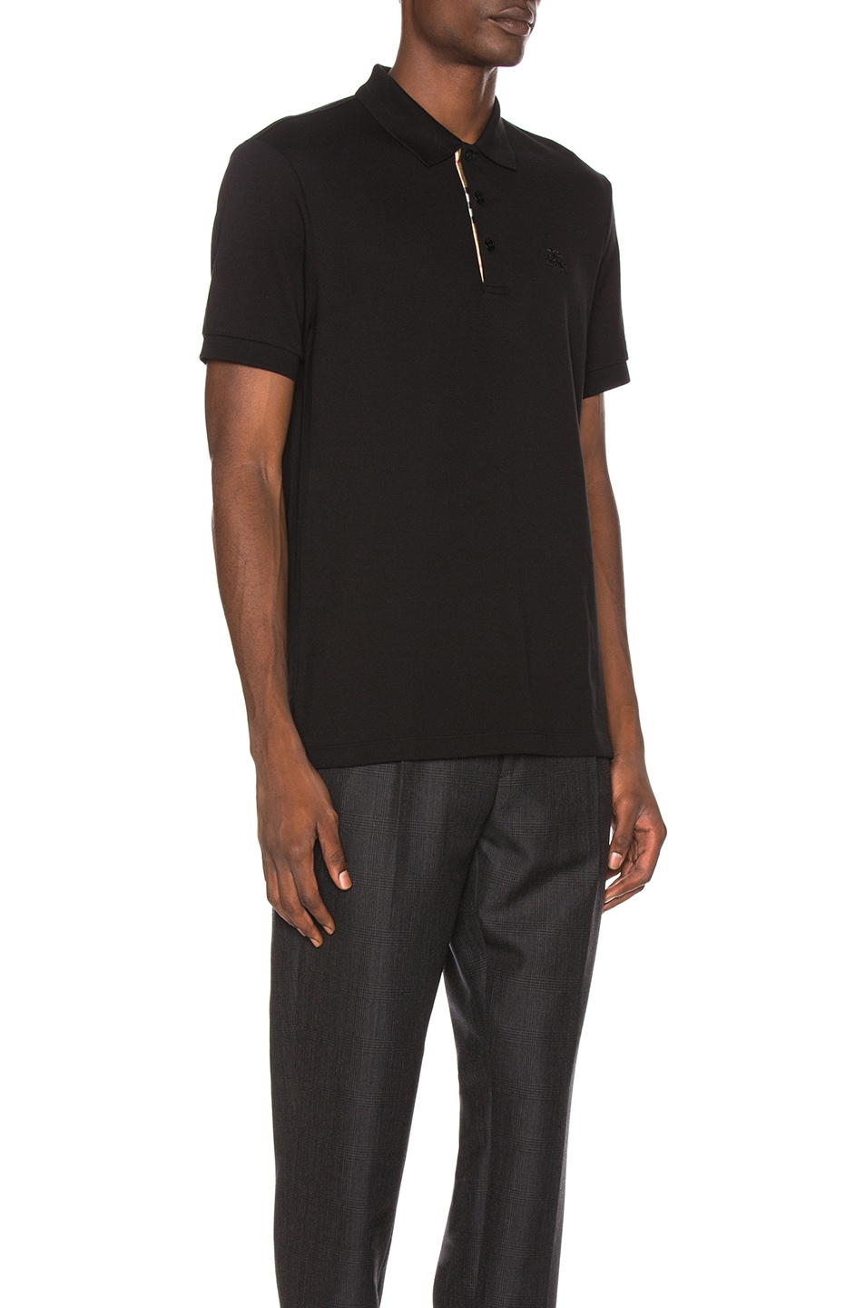Image 3 of Burberry Hartford Polo in Black