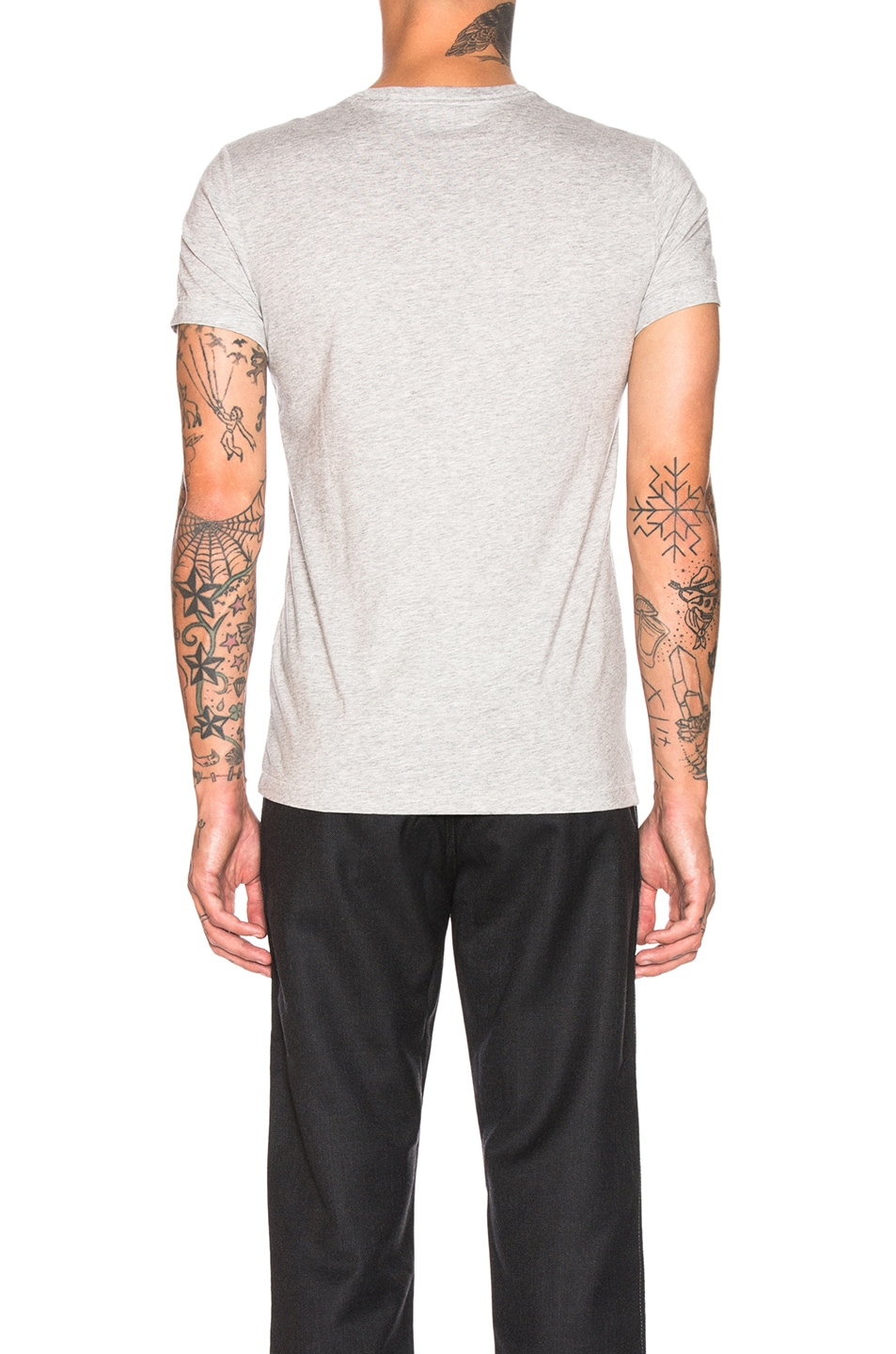 Image 3 of Burberry Joeforth Tee in Pale Grey