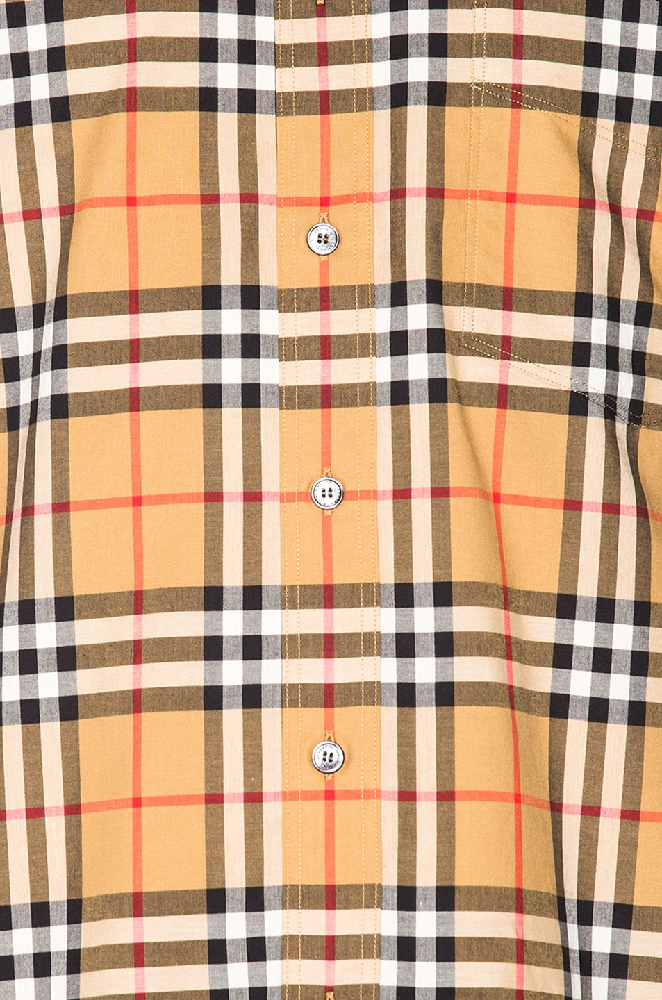 Image 5 of Burberry Jameson Tapered Shirt in Yellow Check