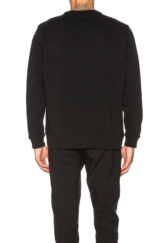 Image 3 of Burberry Logo Print Sweatshirt in Black