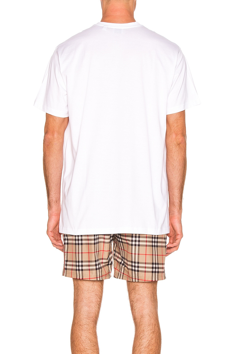 Image 3 of Burberry Registered Tee in Optic White