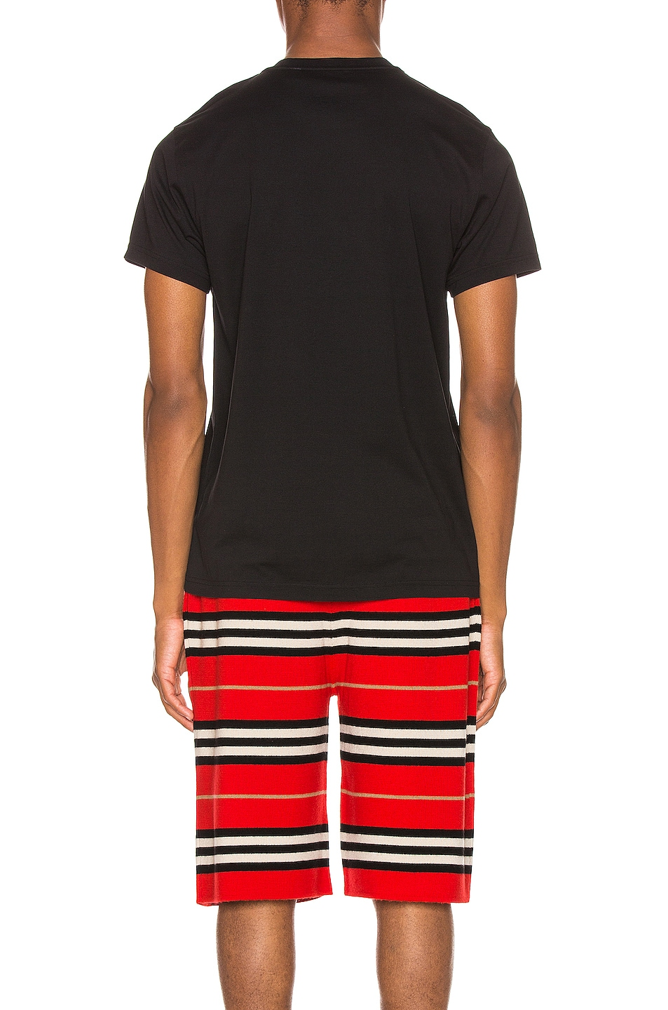 Image 3 of Burberry Parker Tee in Black