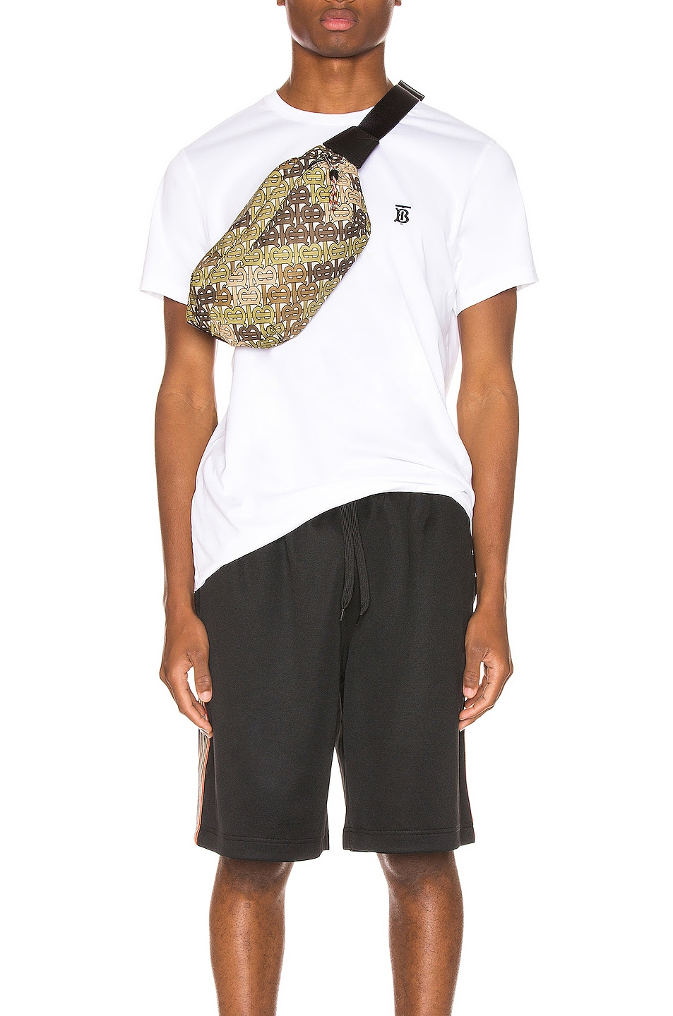 Image 1 of Burberry Parker Tee in White
