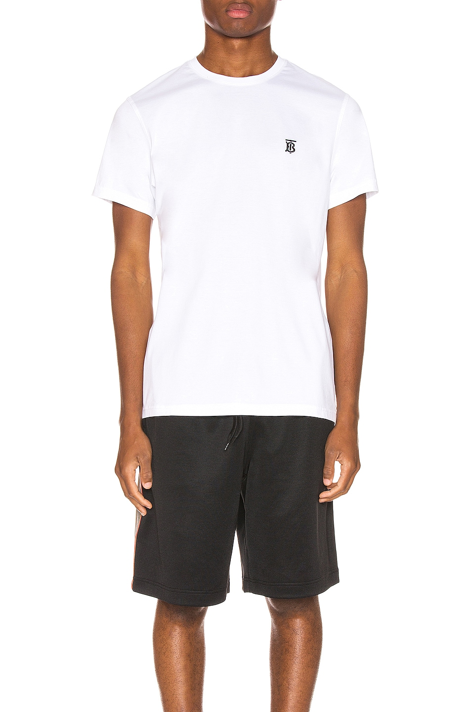 Image 2 of Burberry Parker Tee in White