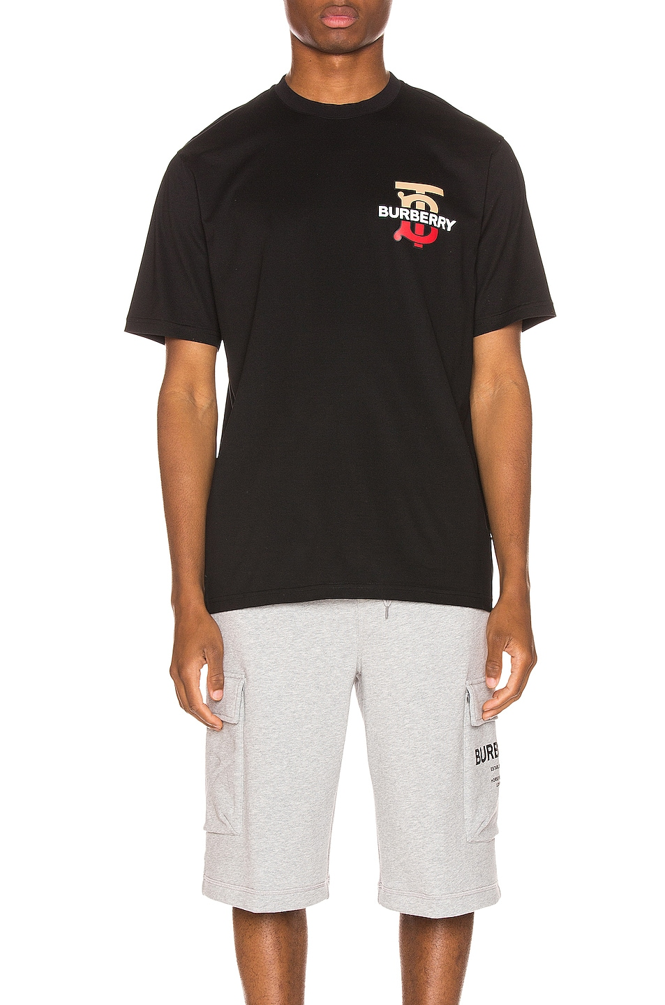 Image 1 of Burberry Gately Tee in Black