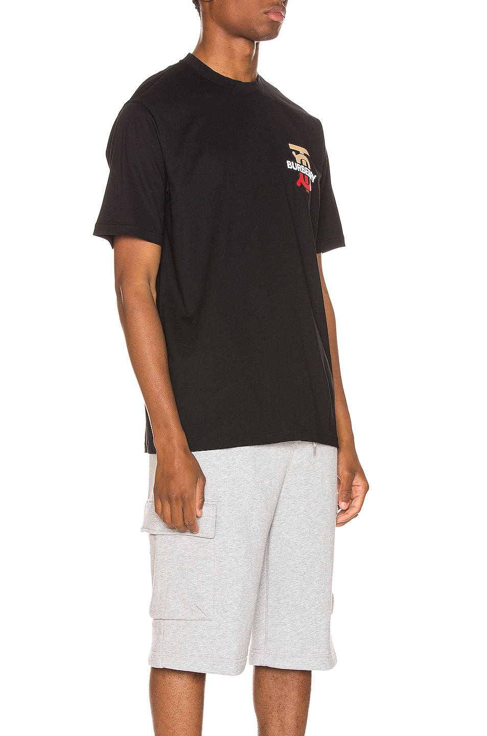 Image 2 of Burberry Gately Tee in Black