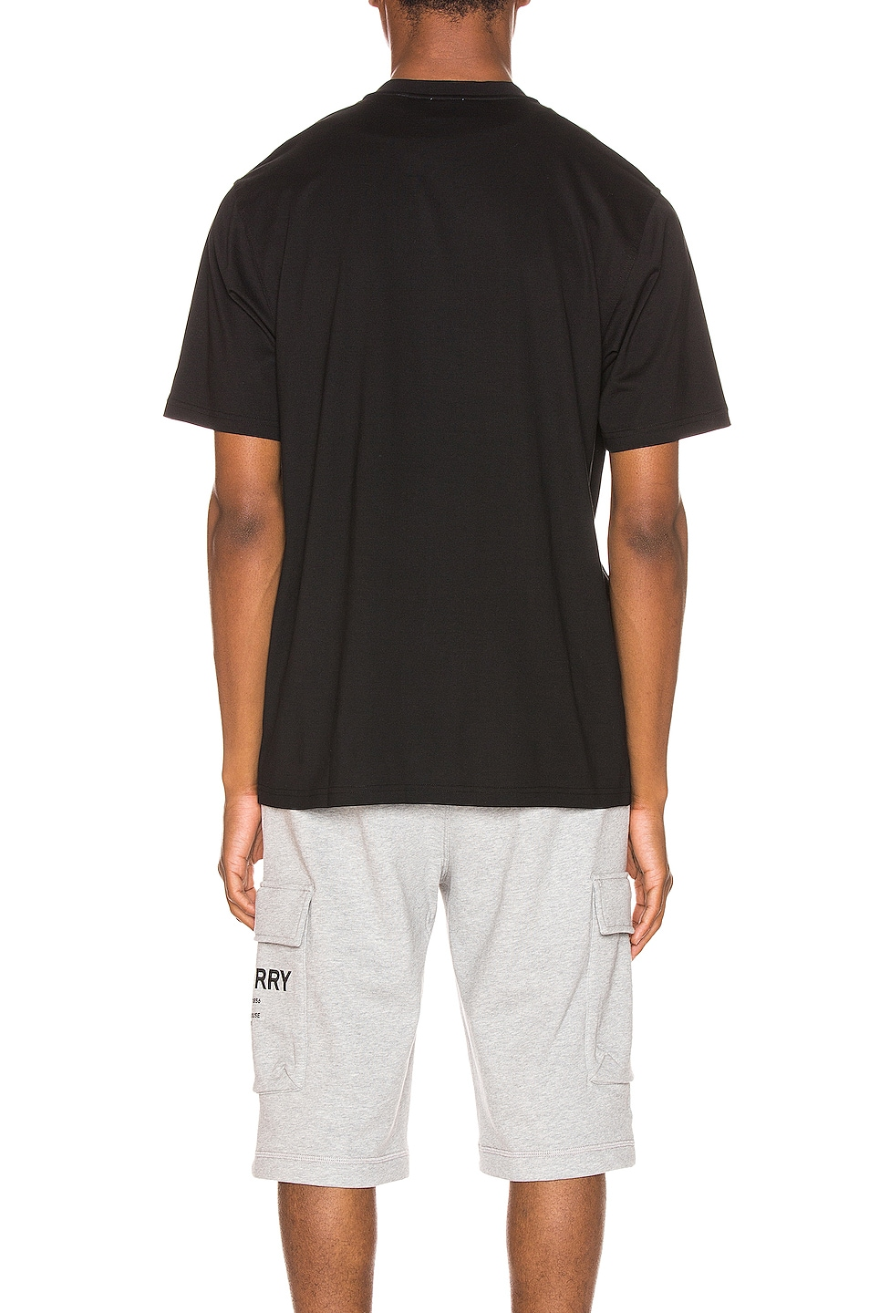 Image 3 of Burberry Gately Tee in Black