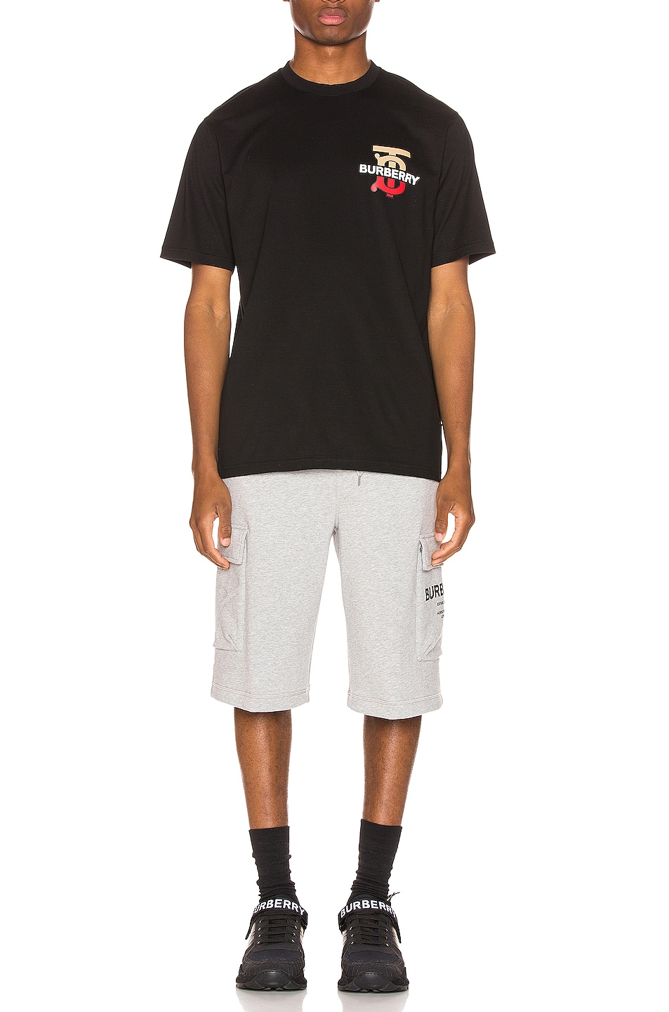 Image 4 of Burberry Gately Tee in Black