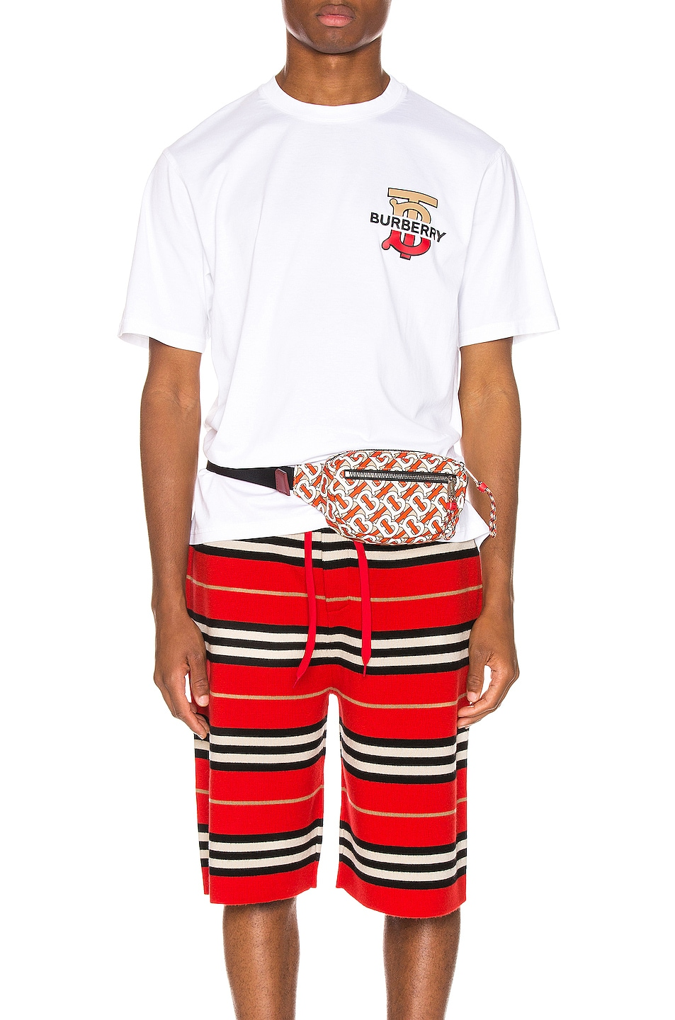 Image 1 of Burberry Gately Tee in White