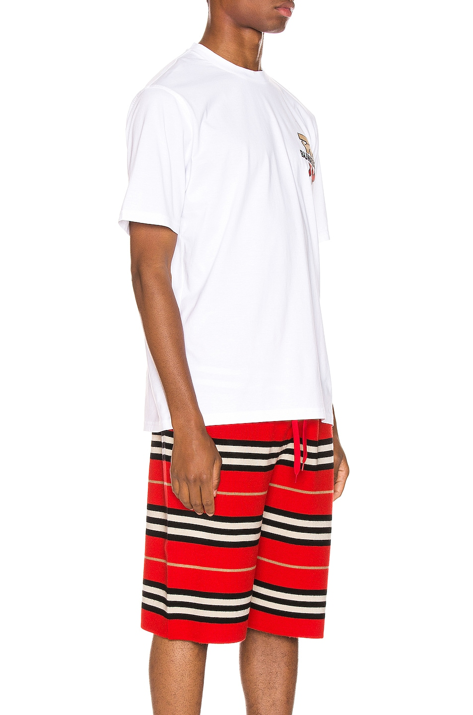 Image 3 of Burberry Gately Tee in White