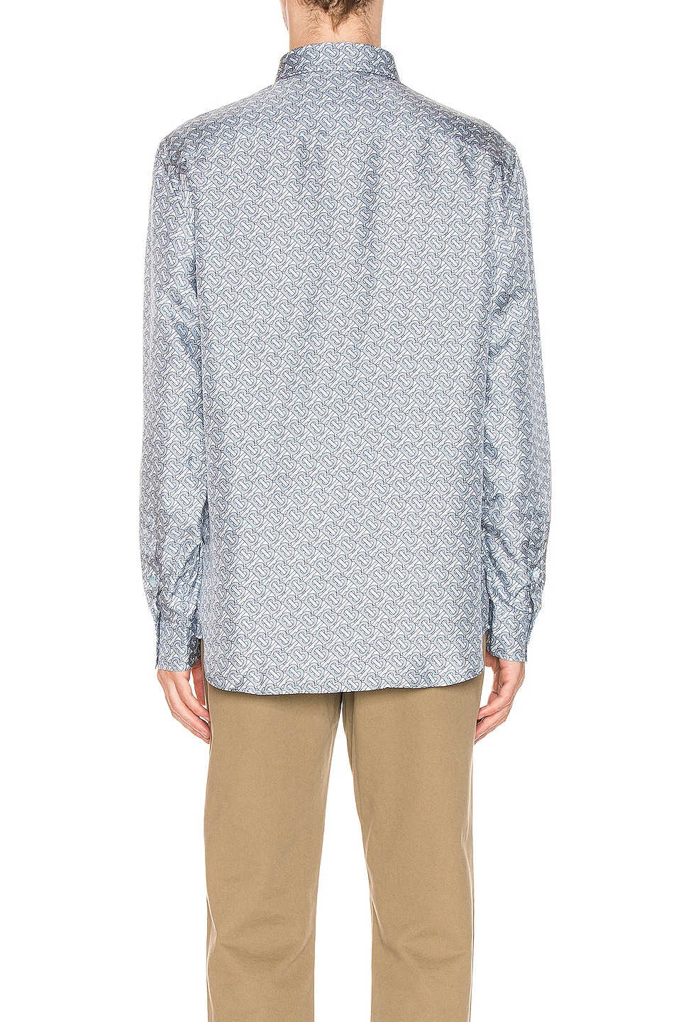 Image 3 of Burberry Classic Formal Shirt in Pale Blue