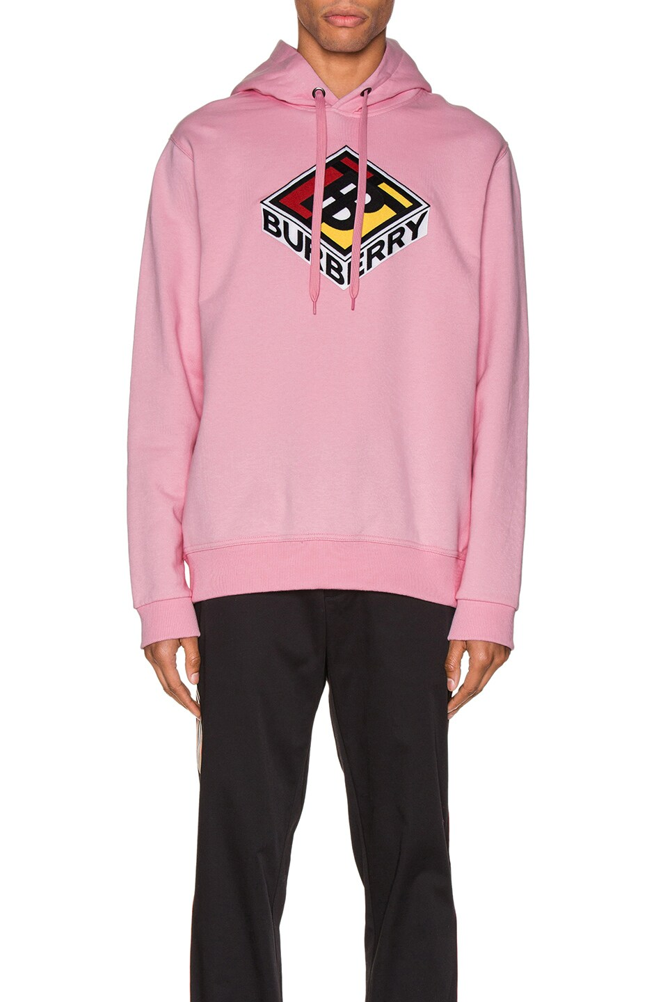 Image 1 of Burberry Hoodie in Candy Pink
