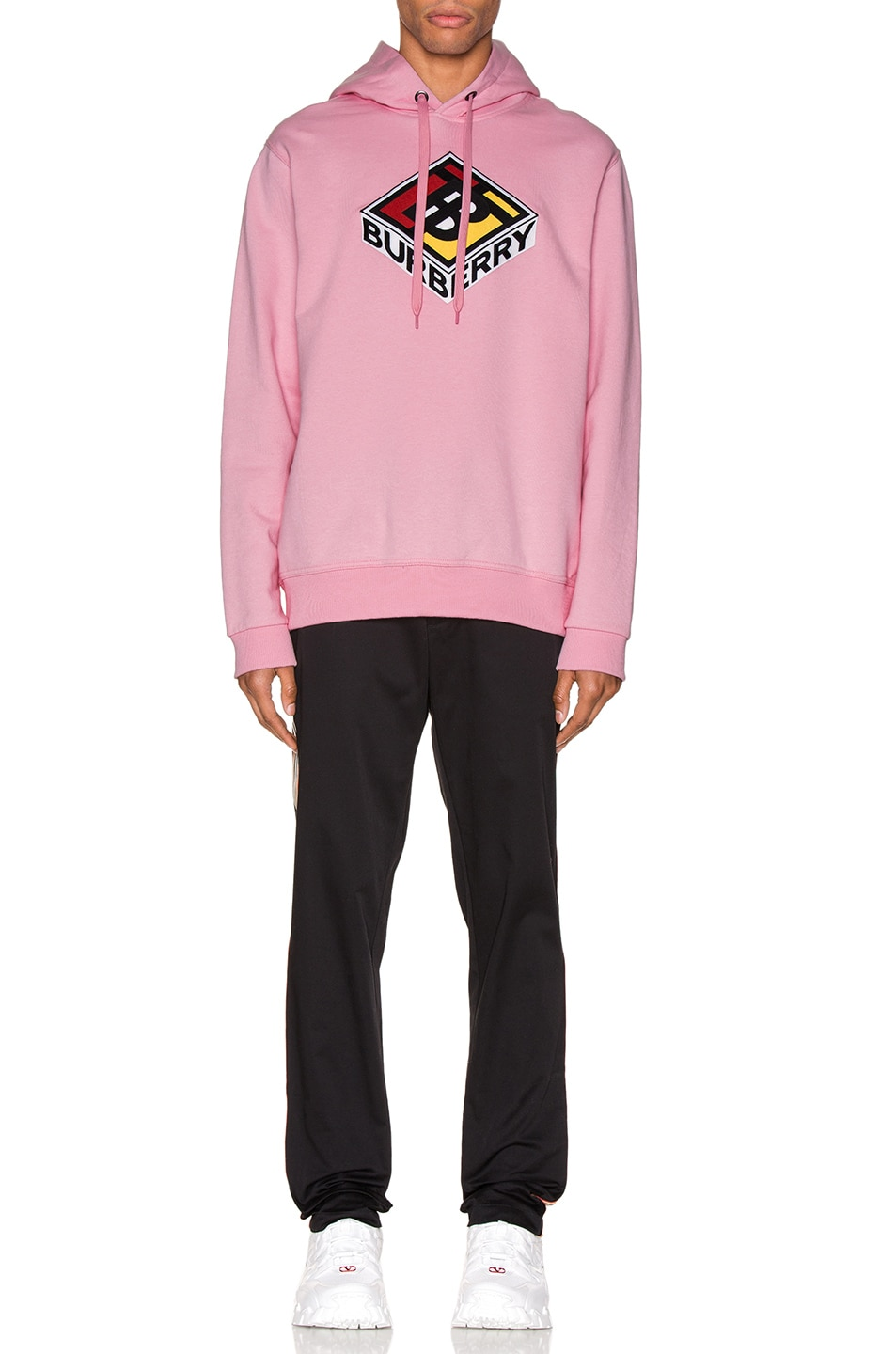 Image 4 of Burberry Hoodie in Candy Pink