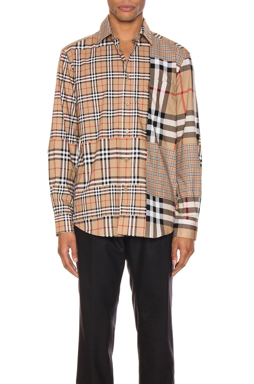 Burberry Shirts Long Sleeve Shirt