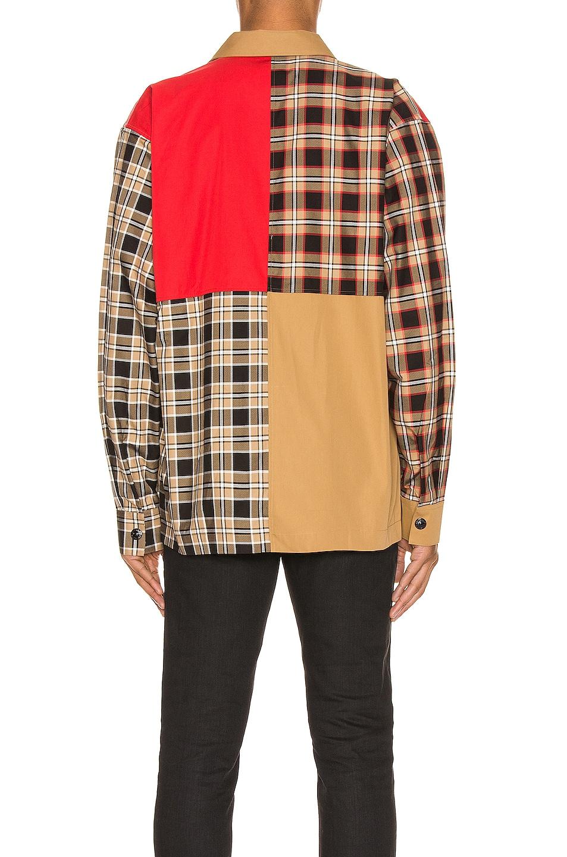 Image 5 of Burberry Halkin Long Sleeve Shirt in Black Pattern