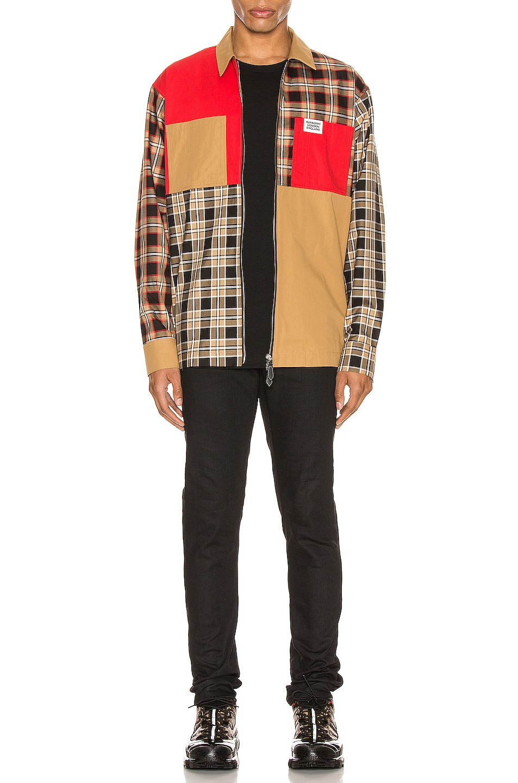 Image 6 of Burberry Halkin Long Sleeve Shirt in Black Pattern