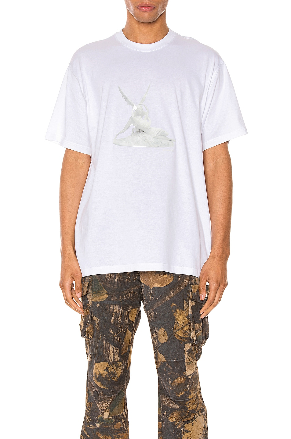 Image 1 of Burberry Wallace Tee in White