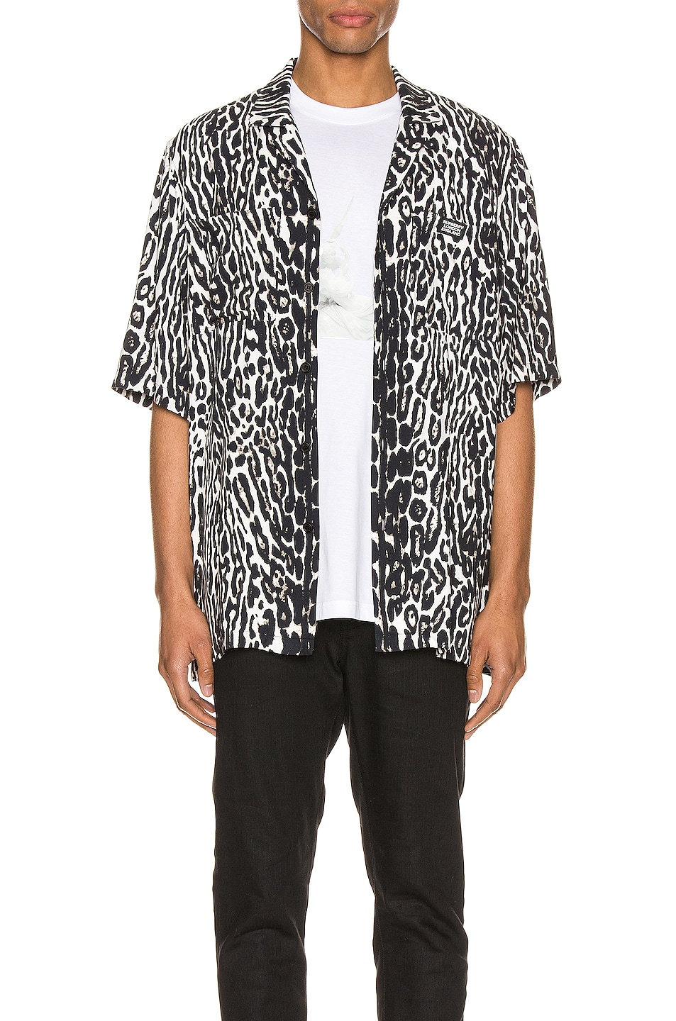 Image 1 of Burberry Radley Short Sleeve Shirt in Black IP Pattern