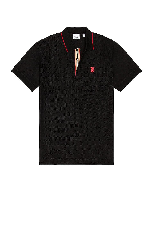 Image 1 of Burberry Walton Polo in Black