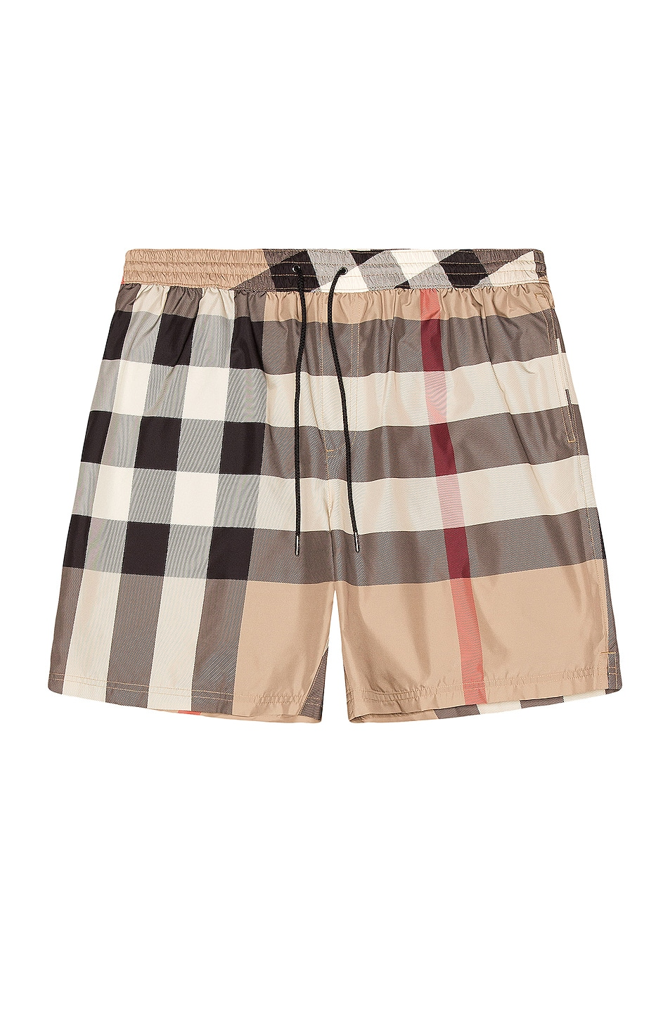 Image 1 of Burberry Guildes Swim Short in Archive Beige Check