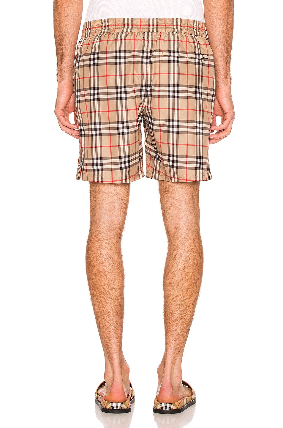 Image 3 of Burberry Swim Short in Archive Beige Check