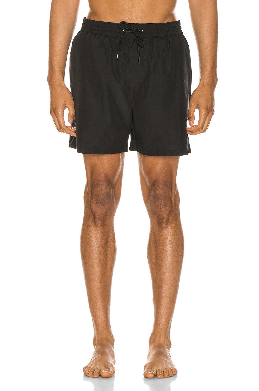 Image 1 of Burberry Grafton Swim Shorts in Black