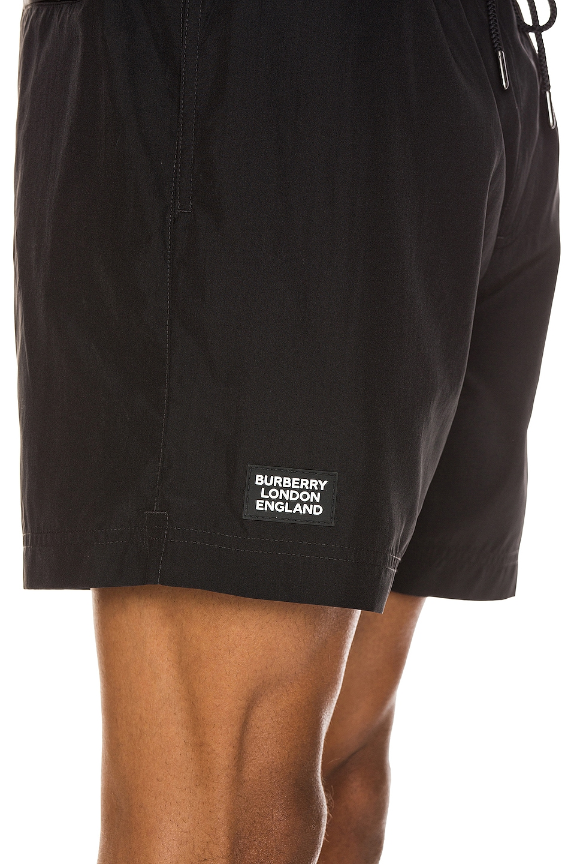 Image 5 of Burberry Grafton Swim Shorts in Black