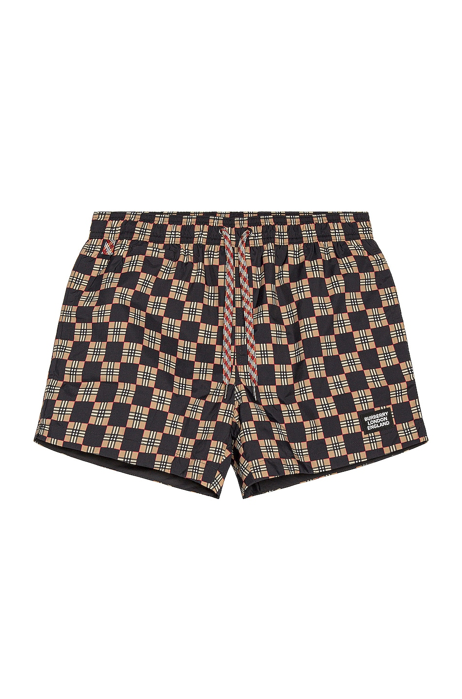 Image 1 of Burberry Greenford Swim Short in Beige