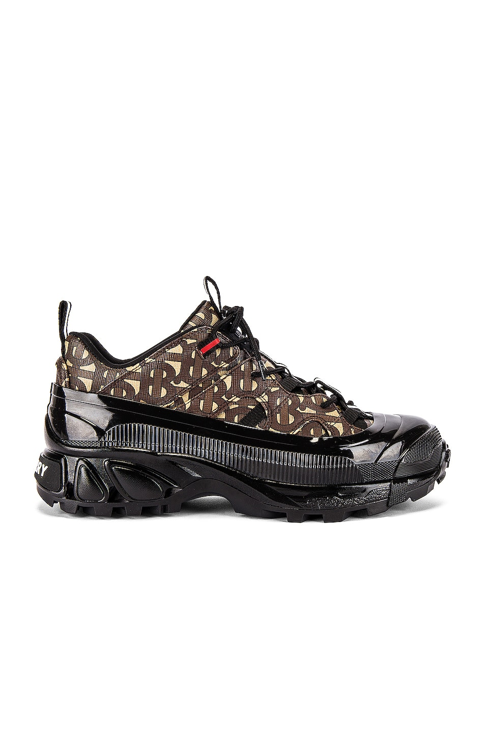 Image 1 of Burberry Arthur Sneaker in Bridle Brown